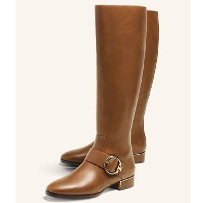 TORY BURCH SOFIA BUCKLED RIDING BOOT