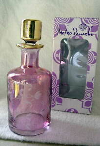 MoMo-Panache-Mouthblown-BOUQUET-Pink-Perfume-Bottle-with-Glass-Stopper-NEW-NIB