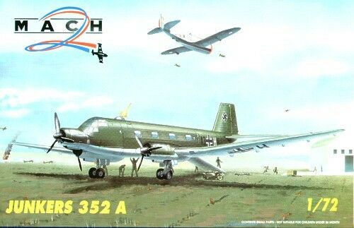 Mach 2 1 72 Junkers Ju352a 3 Motorisierte Transport Transport Transport Flugzeug  7231 48198d