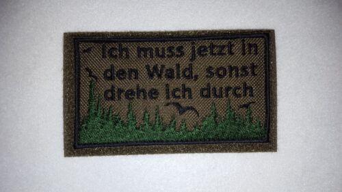 Outdoor Wald Patch Bundeswehr Bushcraft Reservisten