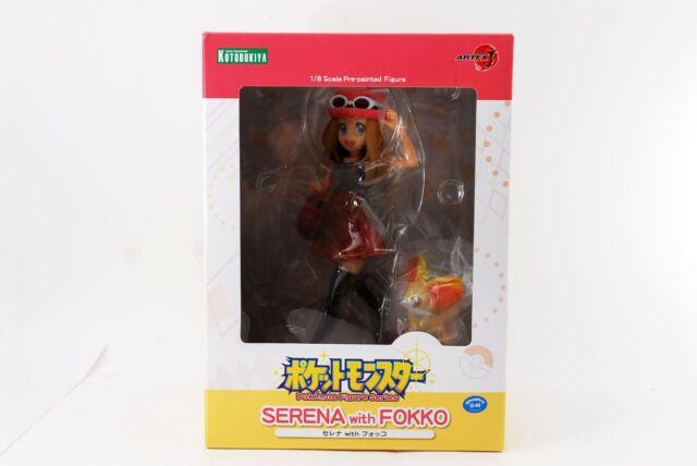 Pokemon Serena&Fennekin Kotobukiya ARTFX J 1/8 scale PVC Painted Figure