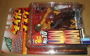 Violence Figurine action masque de tigre série 10 Lion Man Kaiyodo 2001 (États-Unis)