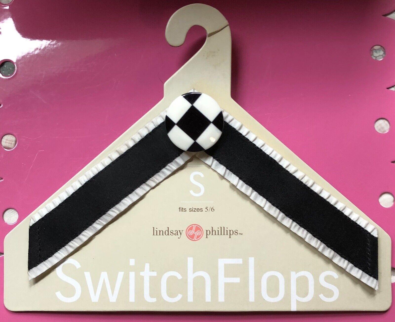 NEW Lindsay Phillips switchflops straps small 5-6 Allie Soccer Mom