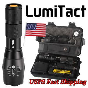 Genuine-20000lm-Lumitact-G700-CREE-XML-L2-LED-Tactical-Flashlight-Military-Torch
