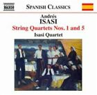 Andres Isasi String Quartets Nos. 1 and 5 US IMPORT CD