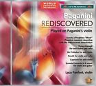 Paganini Rediscovered: Played on Paganini's Violin (CD, Oct-2015, Dynamic (not USA))