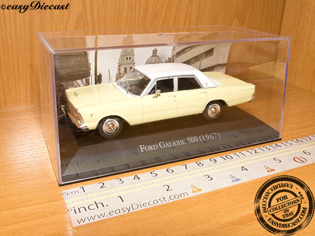 FORD GALAXIE 500 1967 1 43 MINT WITH BOX ART