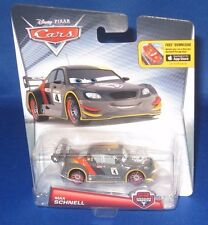 DISNEY PIXAR CARS MAX SCHNELL CARBON RACERS COLLECTOR CAR, NFRP