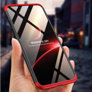 COVER-360-per-Apple-iPhone-6-7-8-Plus-X-XS-CUSTODIA-Fronte-Retro-Originale-VETRO