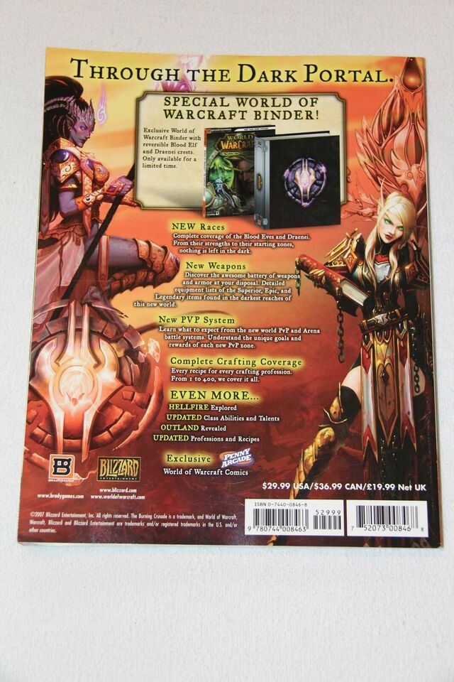 WoW Burning Crusade - BrandyGames Strategy Guide, MMORPG