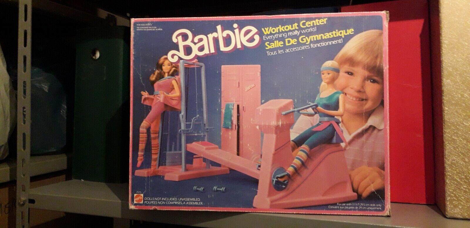 BARBIE Palestra - lavoroout Center (Mattel 1984, con scatola orginale)   a buon mercato