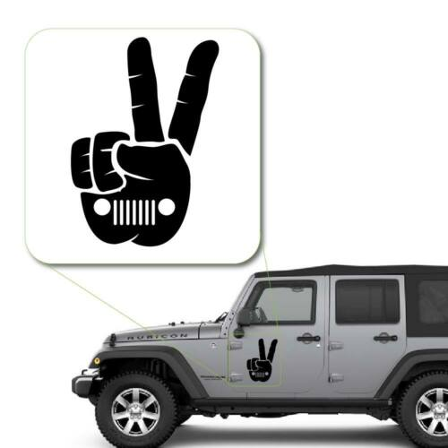 Jeep Wave Decal Sticker for Car Window Laptop and More # 988