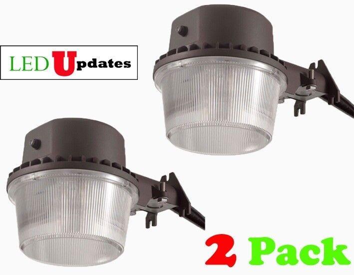 2 Pack LEDUPDATES 40W DUSK TO DAWN LED LED LED LIGHT ETL BARN AREA OUTDOOR SECURITY WALL 4489aa