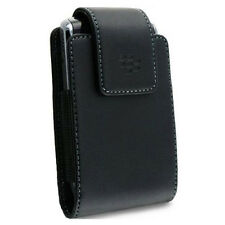 BLACKBERRY BOLD 9900 9930 OEM LEATHER PHONE CASE HOLSTER SWIVEL BELT CLIP POUCH
