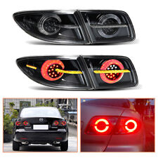 For Mazda 6 Atenza Dark Led Tail Lights Sequential Replace Oem Rear Lamps 03 15 Fits Mazda 6