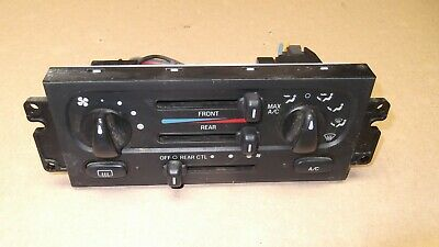 Windstar AC//Heater Control W//Rear AC 1999-2003