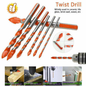 Triangular-overlord Handle Multifunctional Drill Bits ORIGINAL 5PCS