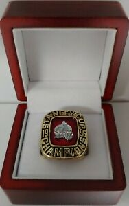 Colorado Avalanche - 1996 Stanley Cup Hockey Custom Ring WITH Wooden Box
