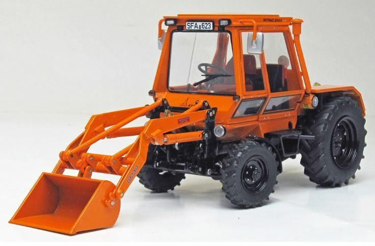 Deutz INTRAC 2003 a con Front caricatrici 1974-1978 1 32 MODEL Weise-Toys