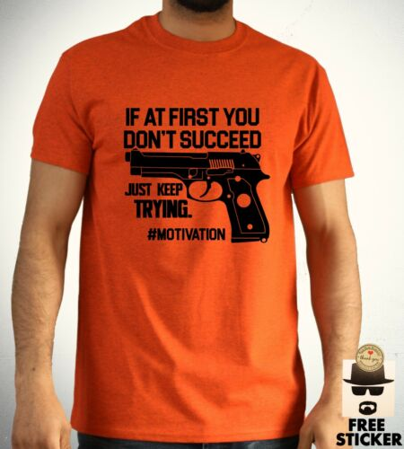 Funny Gun T-shirt Tumblr Pistol Airsoft Army Police Joke unisex paintballing Top