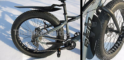 "Axiom FrontRunner or RearRunner 26/"" Bike MTB Fender ClipOn QR Lightweight Choose"