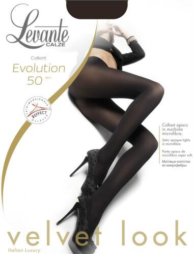 Levante Evolution 50-den Tights Pantyhose woman hosiery black nude S M L XL