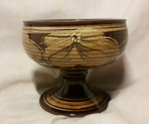 Vintage-Skegness-Pottery-Footed-Bowl