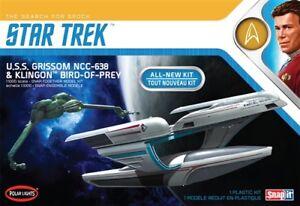 Polar-Lights-Star-Trek-USS-Grissom-Klingon-BoP-2-pack-Snap-1-1000-model-kit-957