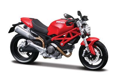 Motorrad Modell 1:18 Ducati 1199 Panigale rot Maisto mit Wunschkennzeichen