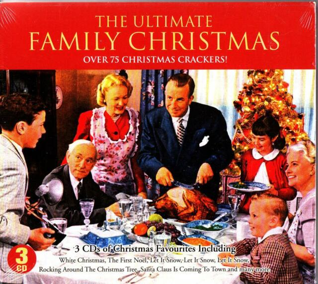 The Ultimate Family Christmas 3-CD (Best of Xmas Pop/Easy/Choral) Sinatra/Elvis
