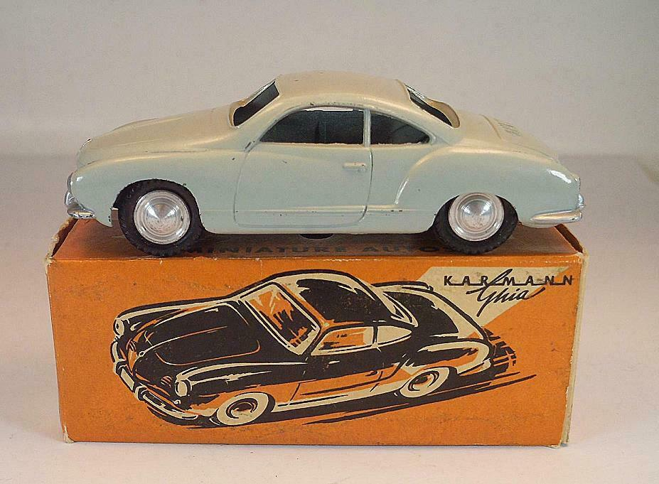 Märklin 8021 Karmann Ghia Coupé Lichtgris dans Pappbox 50er JH  6576