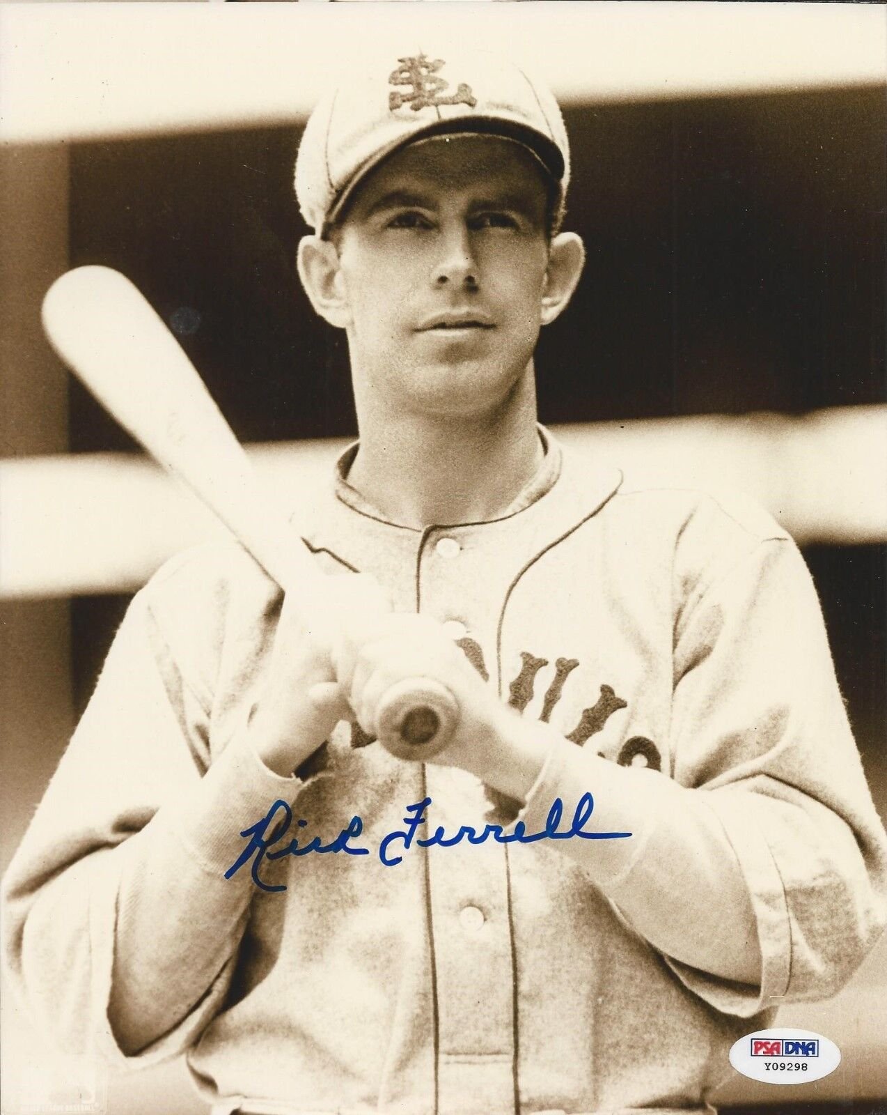 Rick Ferrell St. Louis Cardinals signed 8x10 photo PSA/DNA #Y09298