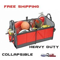 Ford Dodge Nissan Tesla Auto Trunk Cargo Organizer Storage Collapsible Bag