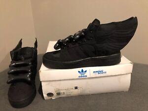the latest cb4f8 c1c65 Image is loading Adidas-Jeremy-Scott-Asap-Rocky-Black-Flag-Wings-