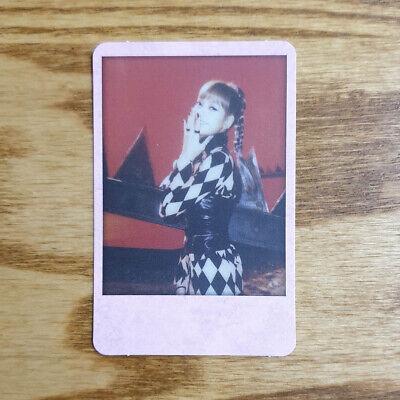 Lisa Official Polaroid Photocard BlackPink 2nd Mini Album Kill This