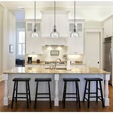 Industrial Pendant Light Glass Ceiling Lamp Lighting Fixture Kitchen Island
