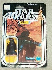 Vintage Star Wars KENNER 1978 JAWA ANH 12 BACK MOC CLEAR BUBBLE AFA IT!