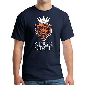 CHICAGO-BEARS-NFC-NAVY-NORTH-CHAMPIONSHIP-SHIRT-KING-IN-THE-NORTH-Sizes-S-5XL