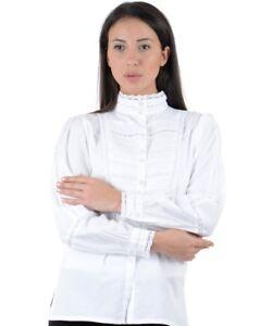 lunga maniche bianca lunghe Manica a classica dwnqxYCI