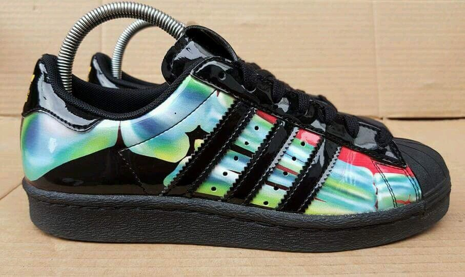 RARE    ADIDAS SUPERSTAR RITA ORA TRAINERS Taille 6EXCELLENT CONDITION FAB