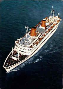Schiffe-amp-Seefahrt-Schiff-Dampfer-034-MS-EUROPA-034-Schiffsfoto-AK-Ship-Photo-Postcard