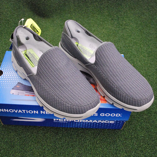 Skechers GOwalk3 Walking shoes - 53980 CHAR Charcoal - Size 9.5 - NEW