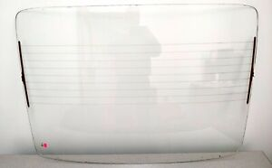 NICE USED ORIGINAL PORSCHE 911 912 REAR WINDOW SEKURIT 1 CLEAR HEATED GLASS 22