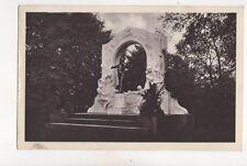 Wien Johann Strauss Denkmal Stadtpark Austria 1926 Postcard 198b