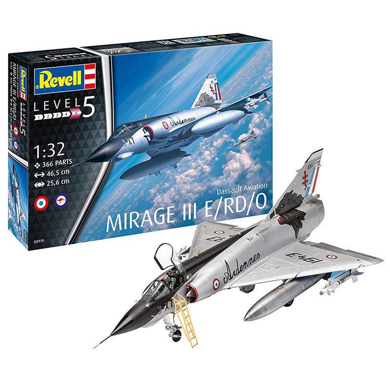 REVELL Dassault Mirage III E 1 1 32 Aircraft Model Kit 03919