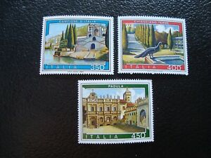 Italy-Stamps-Yvert-Tellier-N-1623-A-1625-N-MNH-A48