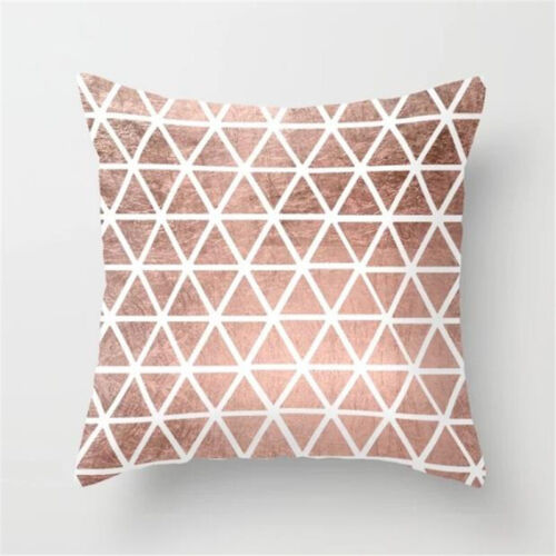 18/'/' Geometric Cotton Linen Pillow Case Cushion Cover Throw Sofa Home Decor Bed