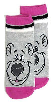 Señoras DISNEY El Libro De La Selva Baloo Zapato Liners Calcetines Reino Unido 4-8 EUR 37-42 US 6-10