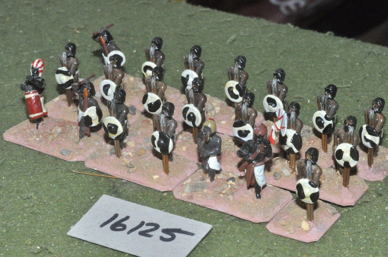 25mm biblical   egyptian - infantry 21 figures - inf (16125)