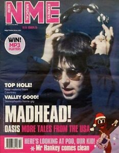 Details about Oasis Noel Liam Gallagher South Park Metallica Stereophonics  NME mag